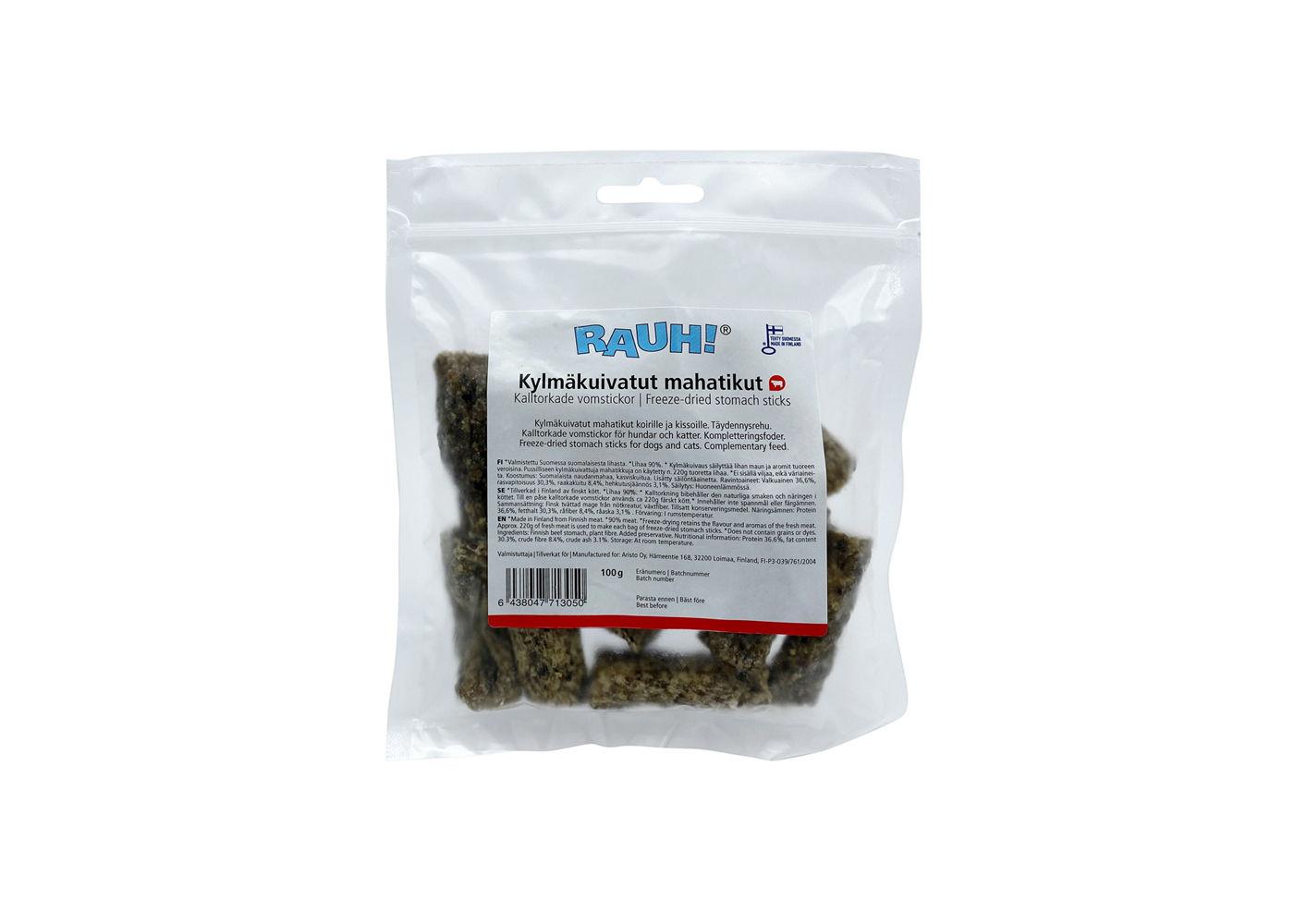 RAUH Kalltorkade Vomstickor 100 g